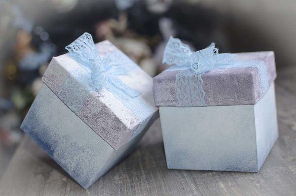 набор конфет в подарочной коробке