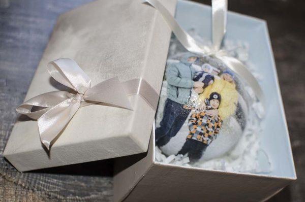 коробка для елочных шаров