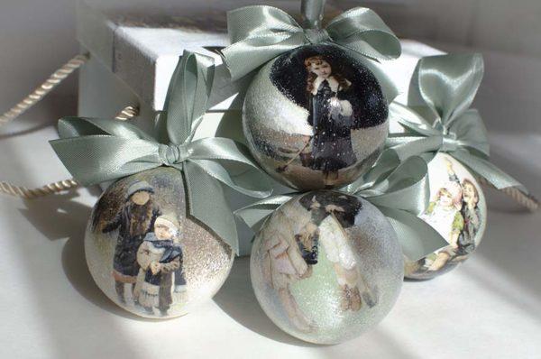 рождественские елочные шары