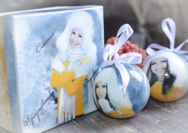 Купить упаковку для новогоднего подарка