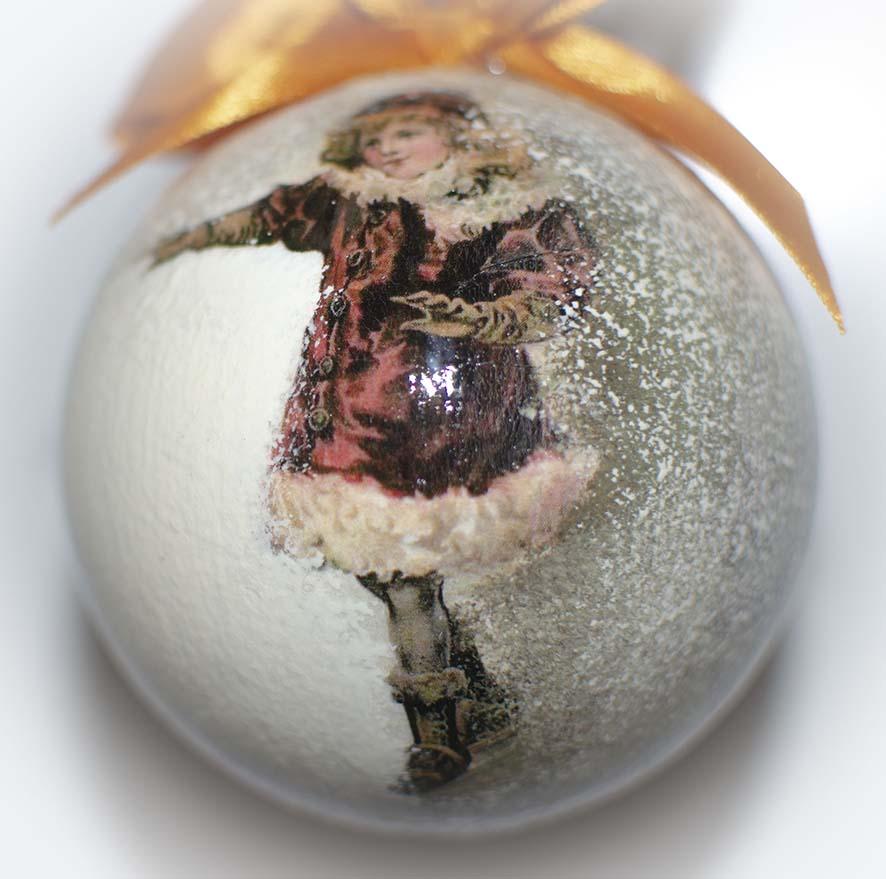 Елочный шар диаметром 6 см